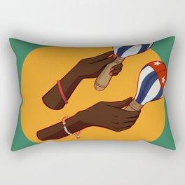 Cuban Maracas Rectangular Pillow