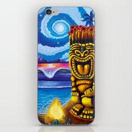 Tiki Moon iPhone Skin