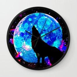 Wolf #1 Wall Clock