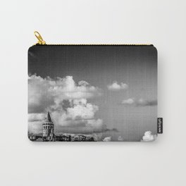 Istanbul: A Fusion of Black and White Carry-All Pouch