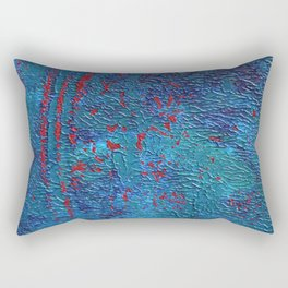 Deadly waves Rectangular Pillow