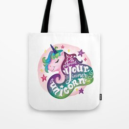 Embrace Your Inner Unicorn Tote Bag