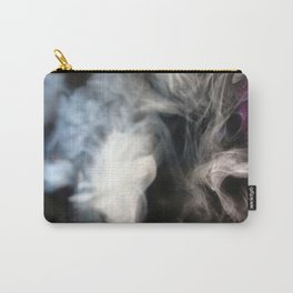 painting with Smoke - peacock feather Carry-All Pouch