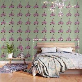 Painting of Garlics Wallpaper