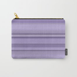 Pantone Purple Stripe Design Carry-All Pouch