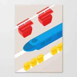 Tomorrowland Transit Canvas Print