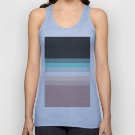 Charcoal, blue and pink pastel blend Unisex Tank Top