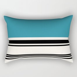 Code Teal Rectangular Pillow