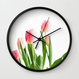 Dose of Spring by Tulips Wall Clock