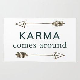 Karma Comes Around Rug