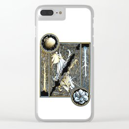 Anor and Ithil Clear iPhone Case