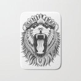 Lions + Patterns Bath Mat
