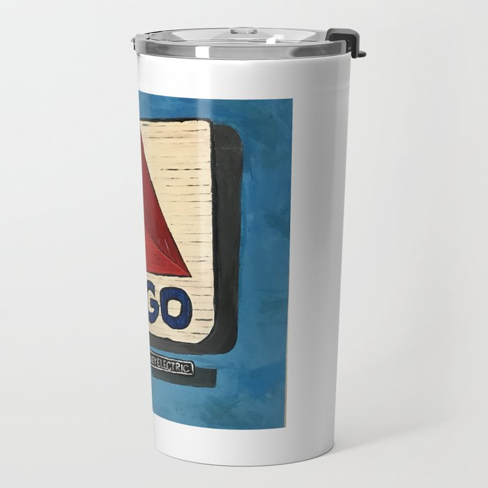 Boston Sunset Travel Mug