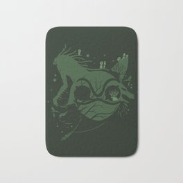 The Legend of Forest Hunter Bath Mat