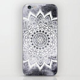 BOHO WHITE NIGHTS MANDALA iPhone Skin