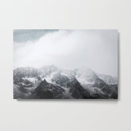 Morning in the Mountains - Nature Photography Metal Print