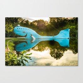 Blue Whale of Rt 66 - Catoosa Oklahoma Canvas Print