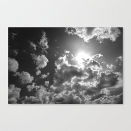Against the Giant Canvas Print