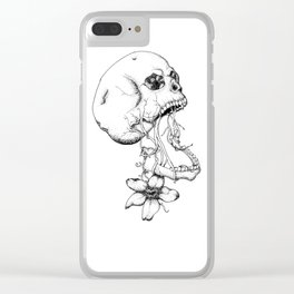 Hanging in the Balance Clear iPhone Case