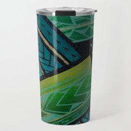 Green Tatau Travel Mug