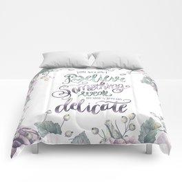 YOU NEEDN'T BELIEVE Comforters