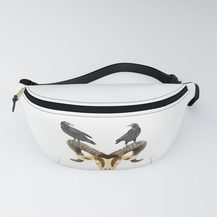 RAM AND RAVENS Fanny Pack