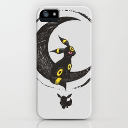 Moon and Shadows iPhone Case