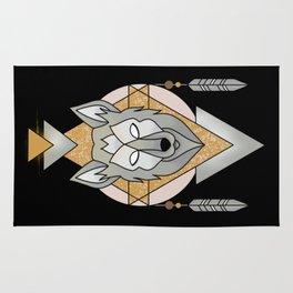 Mystic Wolf Rug