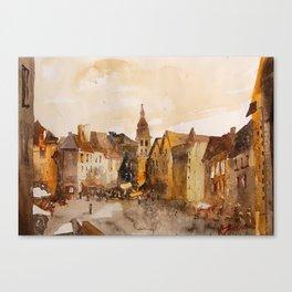 akwarelka 88 Canvas Print