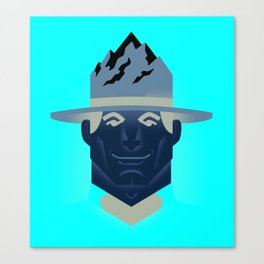 Mountie Canvas Print