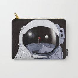 Astronaut Golf Course on the Moon Carry-All Pouch