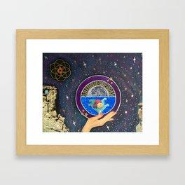 Majick 'n' yr hand*~ Framed Art Print