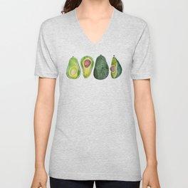 Avocado Slices Unisex V-Neck