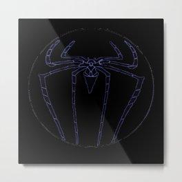 SPIDER DUVET COVER Metal Print
