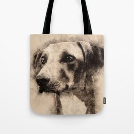 Azawakh Sighthound Sketch Tote Bag