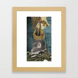 Whistle Blower Framed Art Print