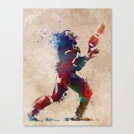 American football player 2 Canvas Print