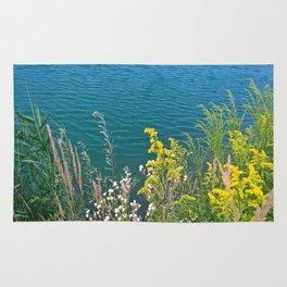 Summer at the lake Rug