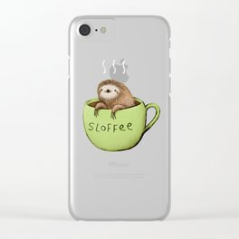 Sloffee Clear iPhone Case