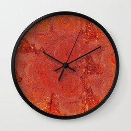 Sunset on Mars Wall Clock
