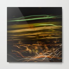 Sparks (or, what mysterious new life form is this) #abstract Metal Print