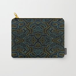Rivers and Roads 3 Carry-All Pouch