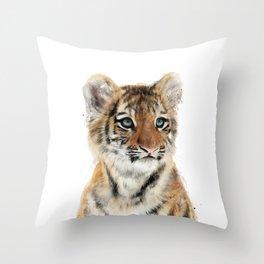Little Tiger Throw Pillow