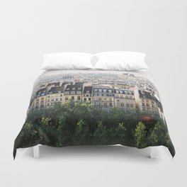 Paris landscape Duvet Cover