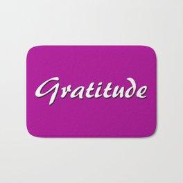 Gratitude Bath Mat