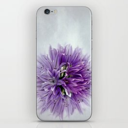 chives bloom iPhone Skin