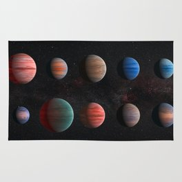 Space Art - Planets Rug