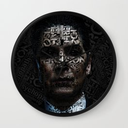 Joan Ferguson  I am to scare... Wall Clock