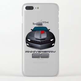2012 Camaro SS 45th Anniversary edition Clear iPhone Case