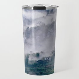 Foggy Mountain of Sa Pa in VIETNAM Travel Mug